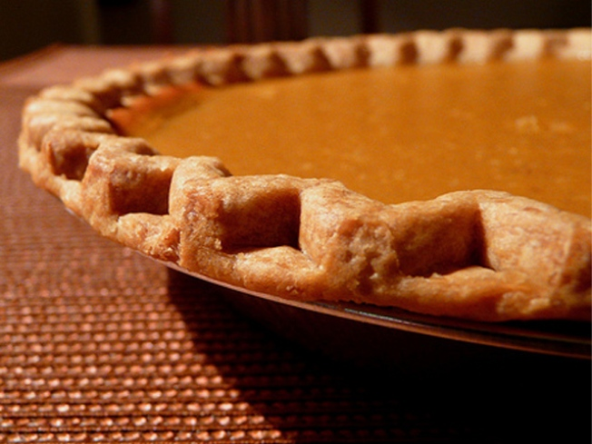 Super-Long Table? Check. 500 Pumpkin Pies? Check.