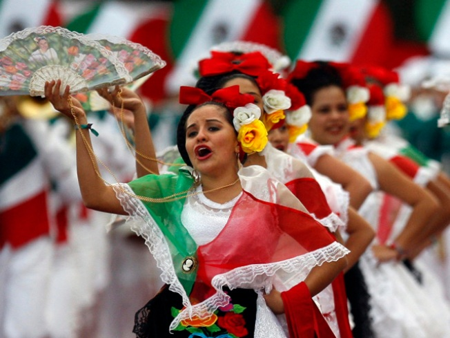 Mexican Marching Band Gets LA Archbishop's Rose Parade Blessing