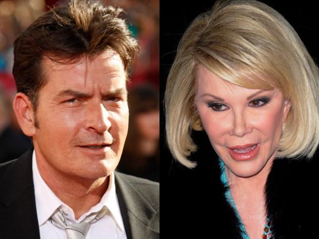 "Joan Rivers on Charlie Sheen: ""He's Awful"""
