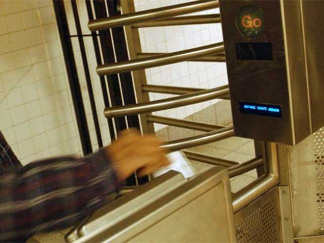 Turnstiles Mean No More Free Ride on Metro