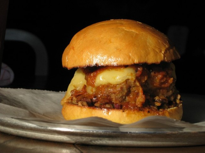 Eat This: Wild Boar Meatball Sandwich