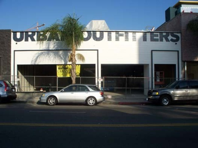 Storecasting: Urban Outfitters on Cahuenga
