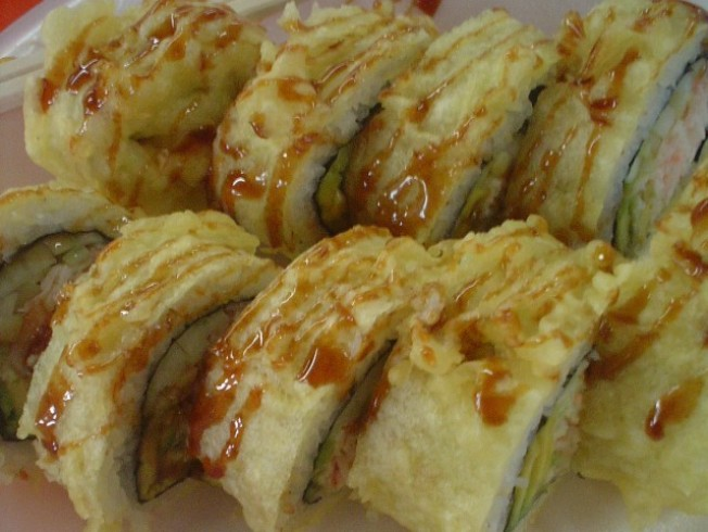 Eat This: Hot California Rolls