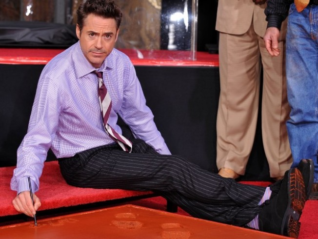 Downey Goes Grauman