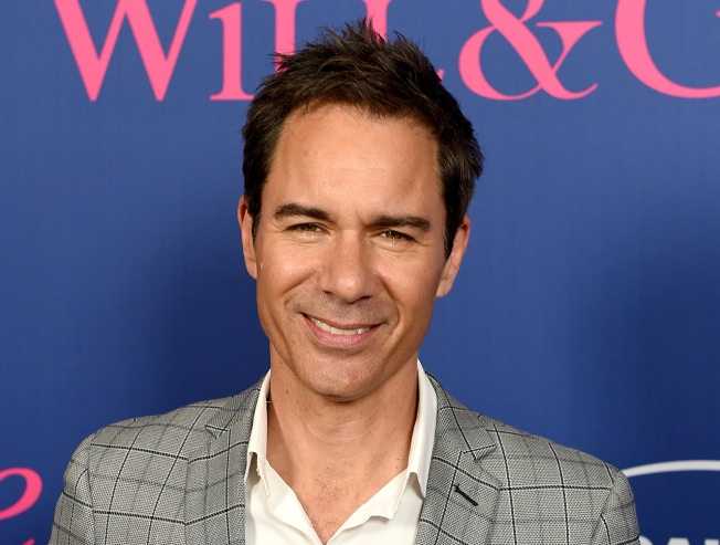 Eric McCormack Receives Star on Hollywood Walk of Fame