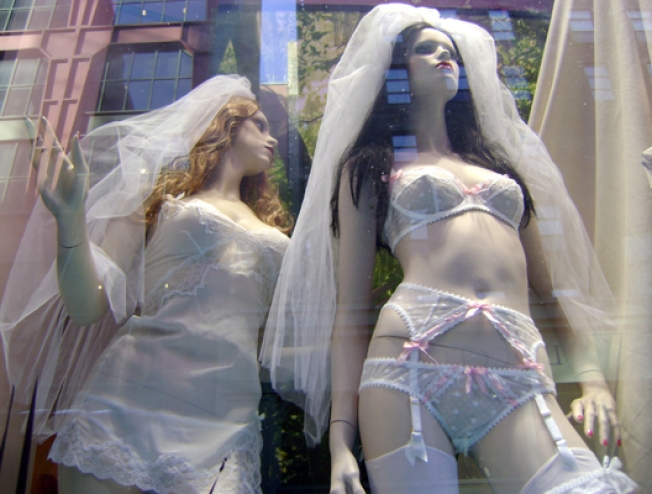 In Tough Times, Lingerie Shops Boom