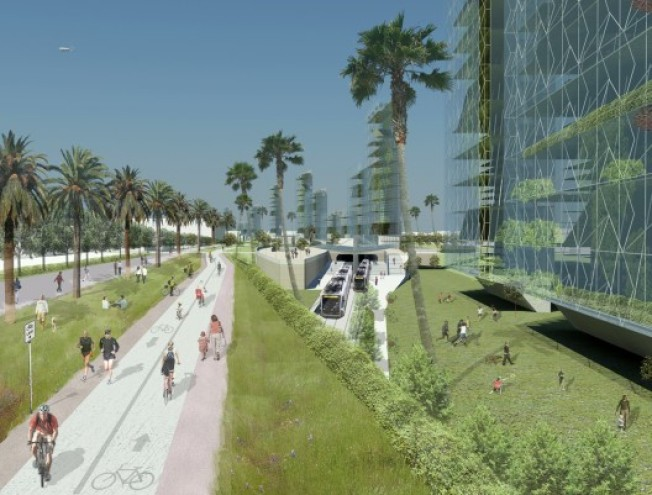 Architects Dreaming: 10 Freeway Becomes A Green Corridor