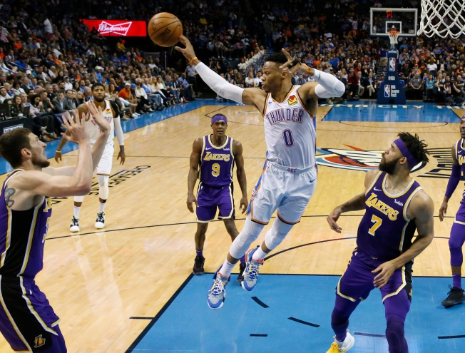 'That's for Nipsey': Russell Westbrook Dedicates Historic Game to Slain Rapper