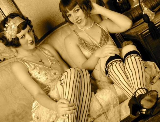 Sassy Flapper Fashion Show