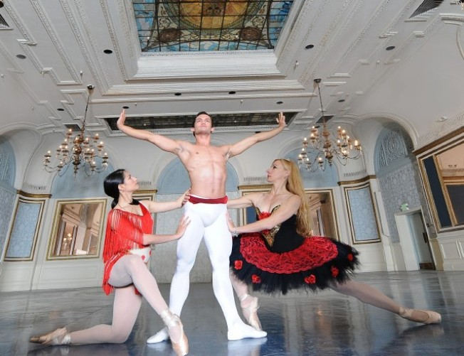 Ballet at the Alexandria Hotel