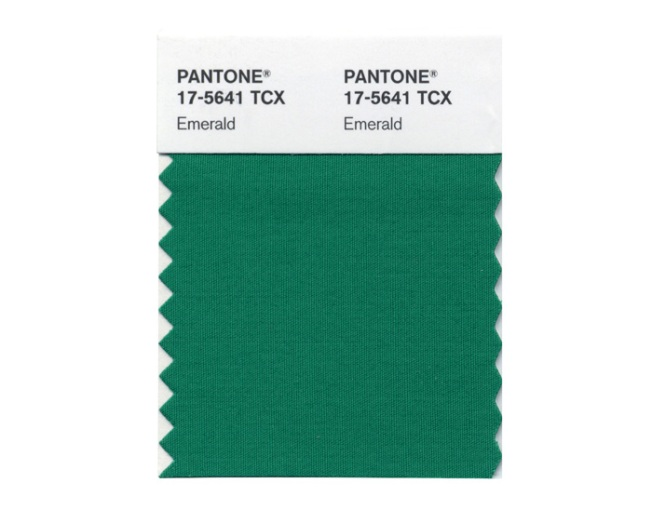 Emerald Green Named Color for 2013