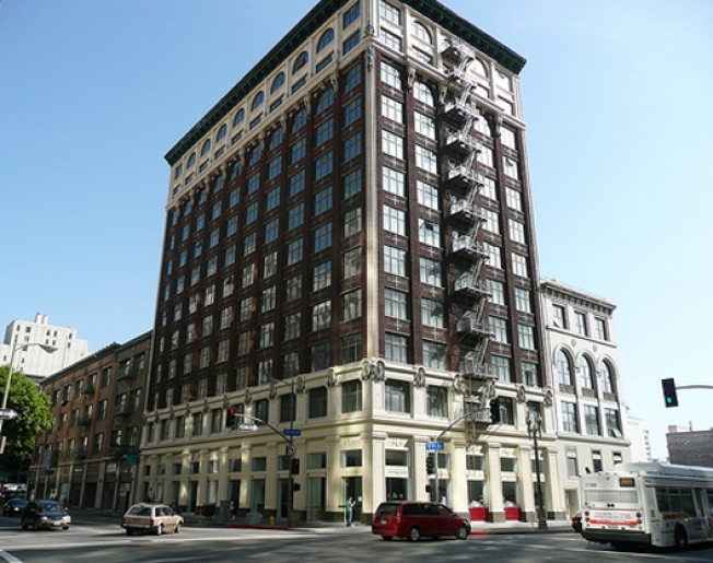 Downtown's Most Beautiful Building Files for Bankruptcy