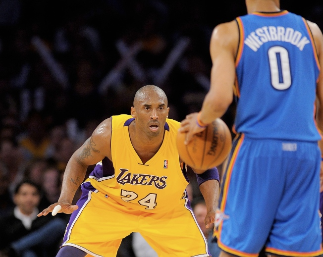 Can Kobe, Lakers Keep Thunder From Rolling?