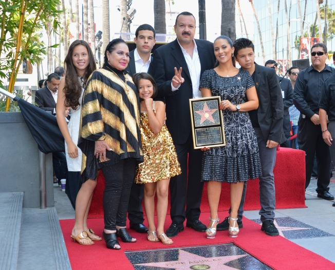 "Pepe ""The Voice"" Aguilar Inducted into the Hollywood Walk of Fame"