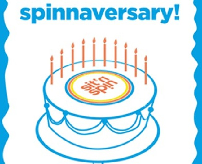 Happy 10 Years, Sit 'N Spin!