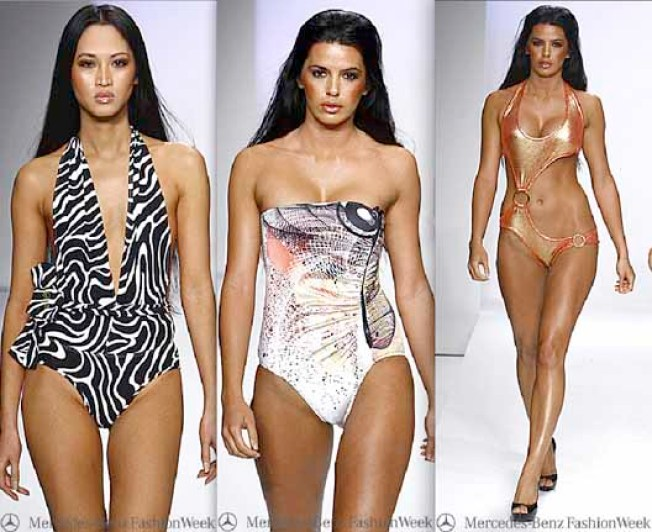 At Smashbox: Model/DJ/Designer/Actress/Heiress Caroline D'Amore Debuts D'Amore by Marceau Swimwear