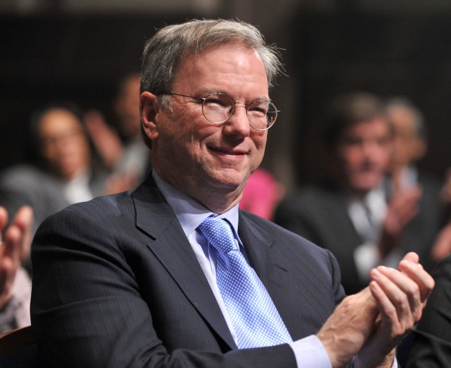 Eric Schmidt Says Google Is No Friend of NSA