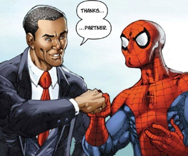 Meet the Guys Behind the Famous Spidey/Obama Comic