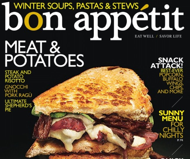 Local Fave Makes Bon Appétit Cover