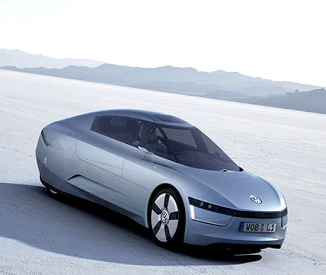 Bullet Car: Volkswagen Introduces L1 Concept Car