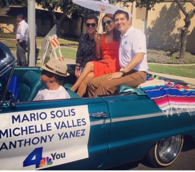 NBC4 Celebrates at Mexican Independence Day Parade