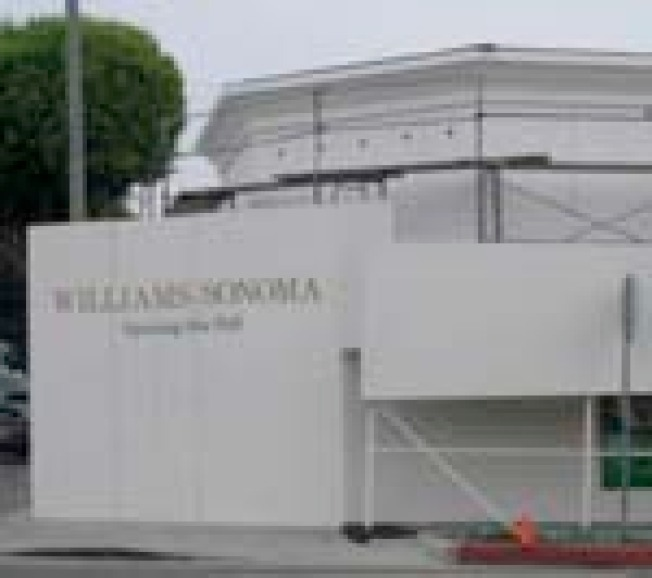 Williams-Sonoma Santa Monica Opens Tomorrow:  You never know if stores...