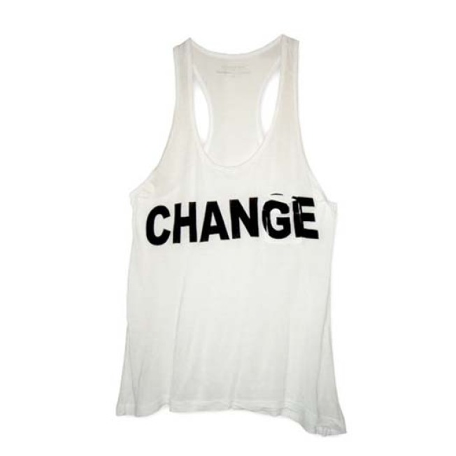 Politics of Fashion: Alexander Wang 'Change' Tank Avail on Obama's Site