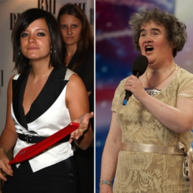 Lily Allen Slams Susan Boyle: 'It's Not About Talent With Her, Is It?'