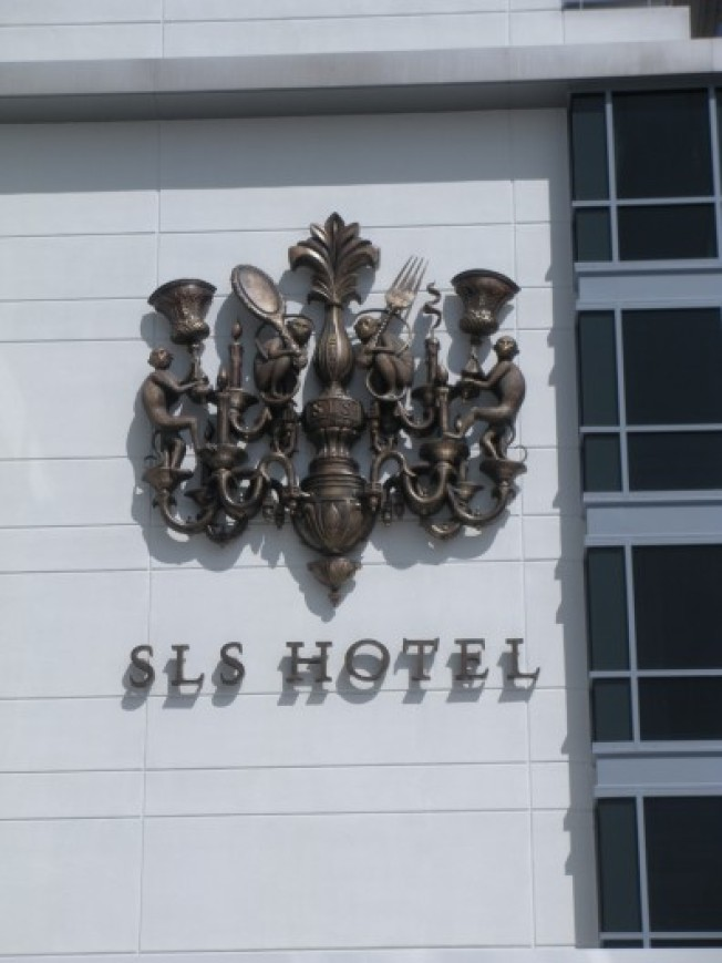 SLS Hotel Update: Monkey Crest Is Up and On