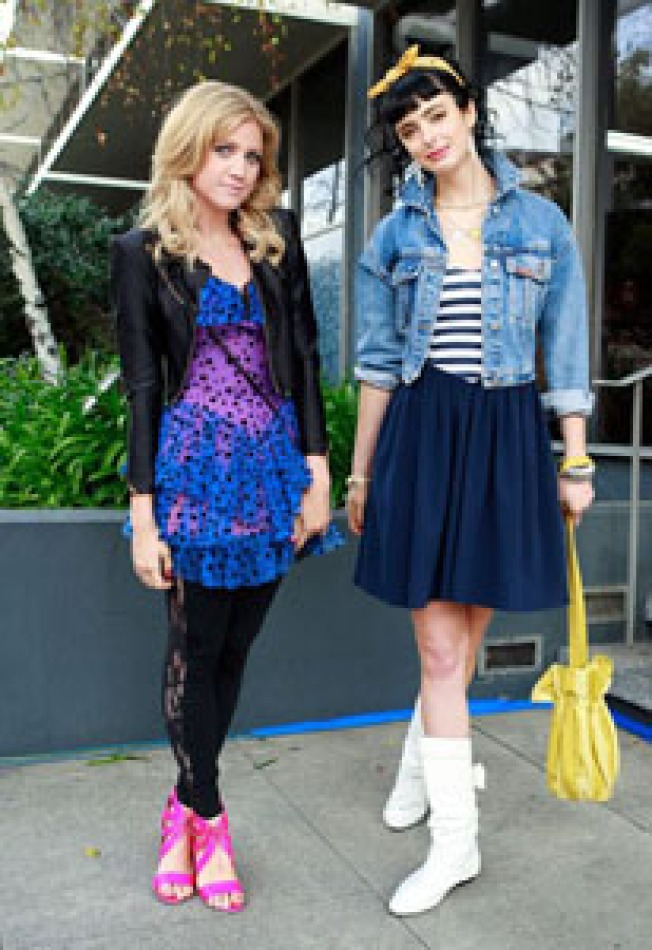 Flashbacks: Gossip Girl Spotlights LA Vintage: Tonight's Gossip Girl forgoes the Upper...