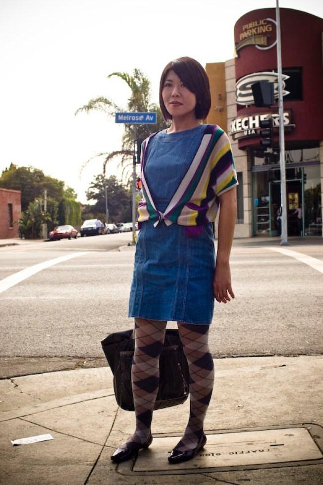 Street Scenes: Hitomi at Melrose and Gardner