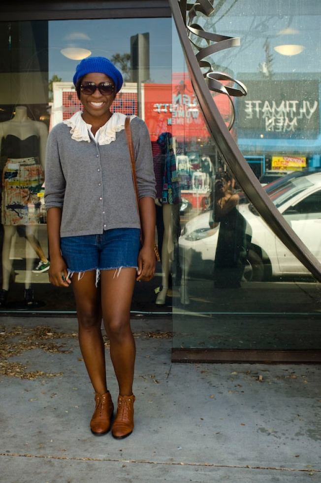 Street Scenes: Kerri at Melrose and Vista