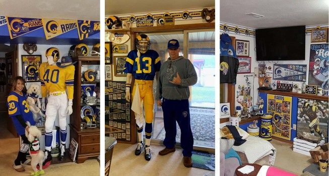 [LA GALLERY] Photos: Step Inside a Life-Long Fan's Ram Cave