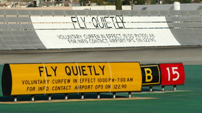 Nighttime Curfew Bill Aims to Cut Valley Jet Noise