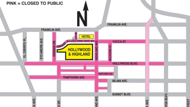 The Oscars May Cause Traffic Snag Around Tinseltown