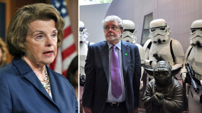"Dianne Feinstein ""Disappointed"" George Lucas Decided to Build His Museum in Chicago"