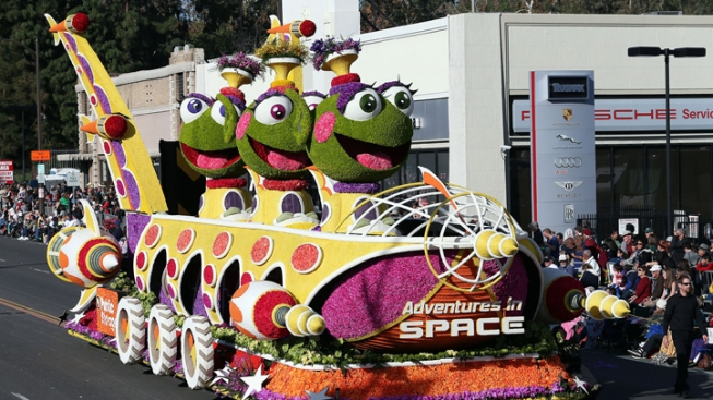Rose Parade: 2017 Floats Revealed