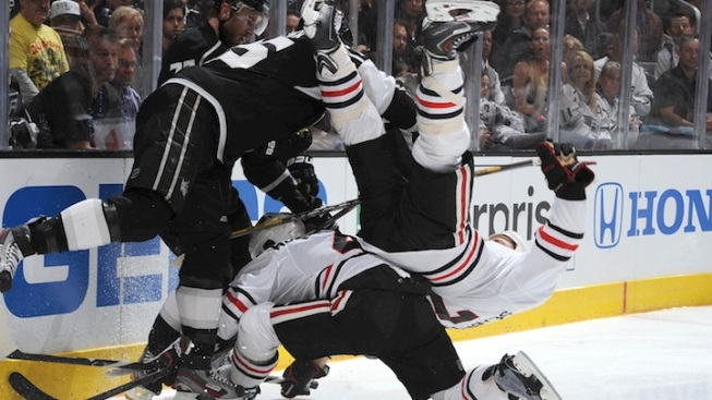 Kings vs. Blackhawks: TV Schedule Announced