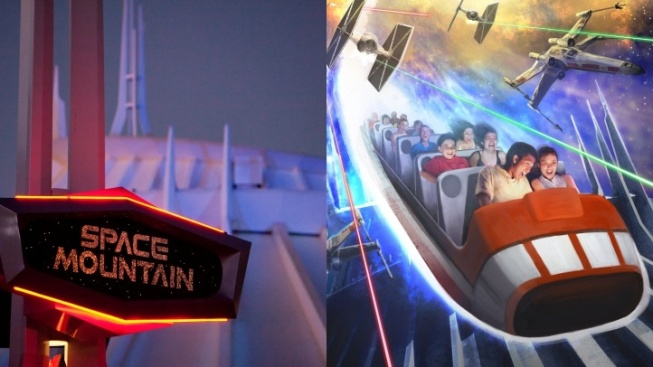 Hyperspace Mountain Warps Back to Disneyland