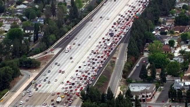 Two Killed in Fiery 118 Freeway Crash in Granada Hills