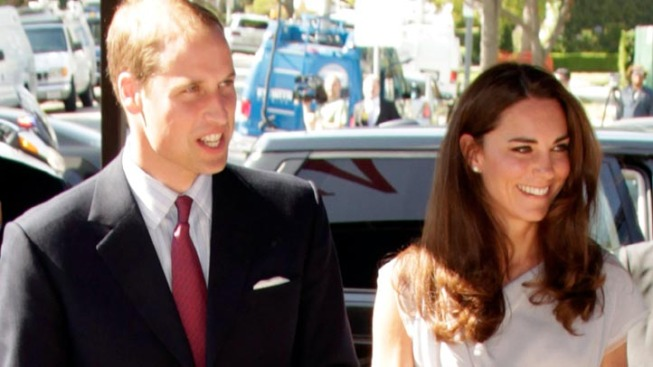 William and Kate Promote British Talent in LA