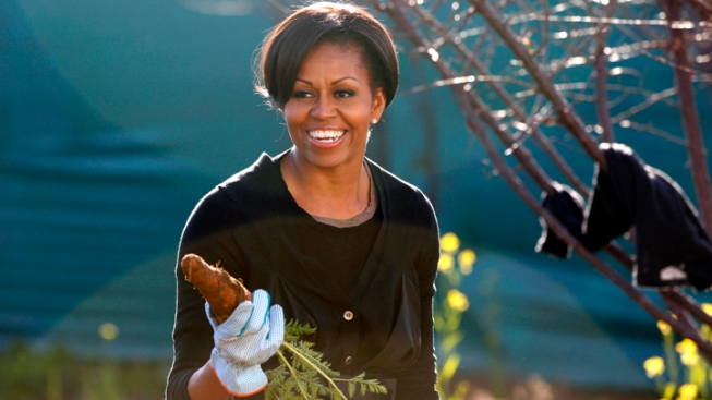 "Michelle Obama Talks Gardening, New Book on ""The View"""