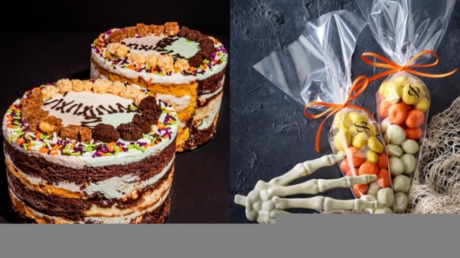 Feast Upon Frankencake and Chocolate Candy Corn
