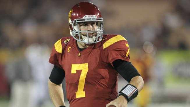 Kiffin: USC's Matt Barkley Out for Notre Dame Game