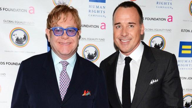 Elton John Welcomes Second Child With David Furnish