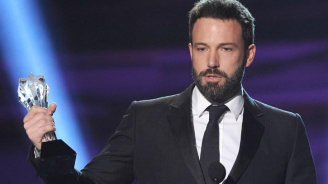 Affleck, Argo Win Big at Critics' Choice Awards