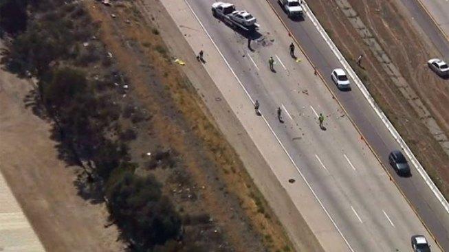 Collision Kills One on 15 Freeway, Snarls Traffic in Lake Elsinore