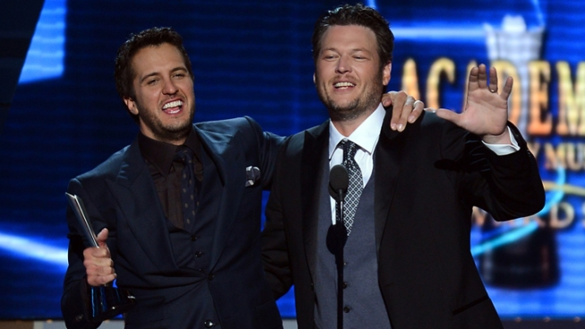 Luke Bryan, Miranda Lambert Win Big ACM Awards