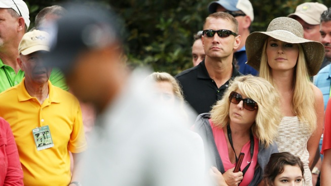 High Wattage Couples on Course at Masters