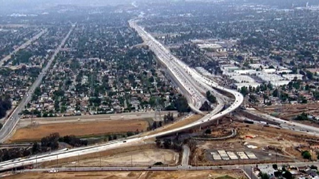 New 170, 5 Freeway Transition Road Open for Traffic